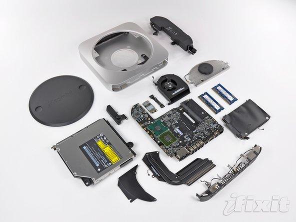 Apple Mac Mini Mid 2010 teardown